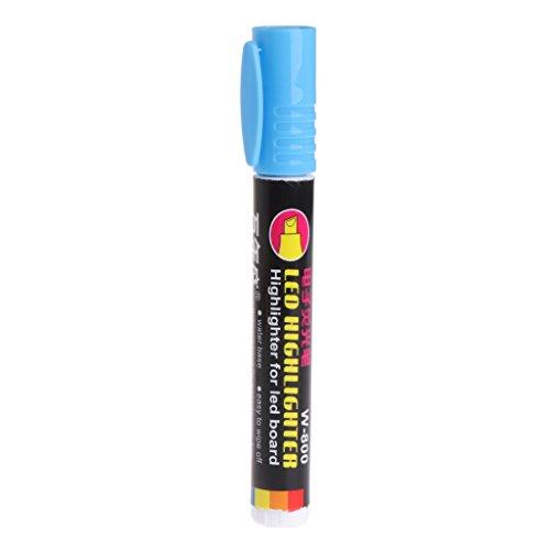 planuuik Queen Bee Markierstift Fluoreszierend 8 Farben Bienenzuchtwerkzeuge Kunststoffmarker Supply LBlue