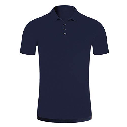 Maglia Maglietta Uomo Manica Corte Stampa Manica Corta da Uomo Estive T Shirt Uomo Top Maniche Corte Estate Magliette Uomo Qinsling