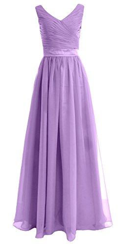 MACloth - Robe - Trapèze - Sans Manche - Femme Violet - Lavande
