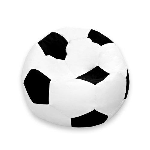 Luxury Fußball Sitzsack hochwertiges Fussballsitzkissen aus der Comfortline klein original Lumaland
