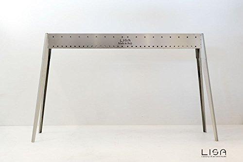 Cuocispiedini e Arrosticini Inox professionale - 120 cm