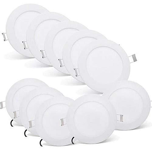 Ysoom 6 W LED SMD LED Einbauleuchte Ultra Plano Ø100 mm Deckenlampe...