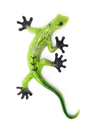 Dekofigur Gecko, Wand- oder Tischdekoration, 27,9 cm lang ()