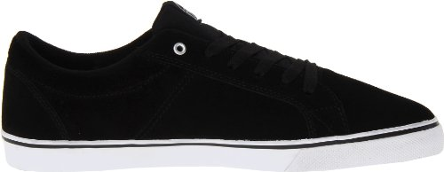 Fallen Chief 23818001, Chaussures de skateboard mixte adulte Noir - Blanc/noir