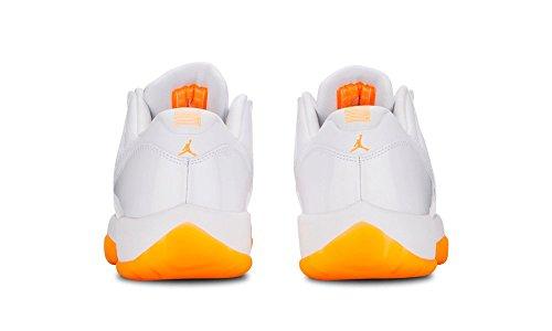 Zoom HyperFlight punta rotonda basket sintetico di scarpe white/white-citrus