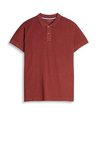 ESPRIT 087ee2k011, Polo Uomo Rosso (Bordeaux Red 600)