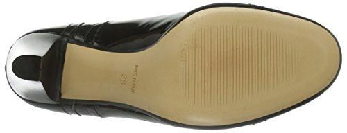 Evita Shoes Schnürer, Scarpe col tacco donna nero (Schwarz (Schwarz))