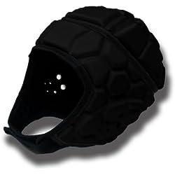 barnett HEAT PRO casco de rugby competición, color negro, talla L