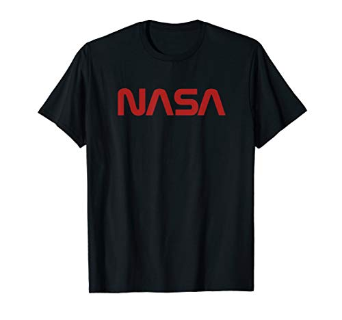 Offizielles NASA Worm Logo Tshirt   Geschenk -