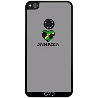 DesignedByIndependentArtists Case for Huawei P8 Lite 2017 - Jamaica Soccer Shirt 2016 by ilovecotton