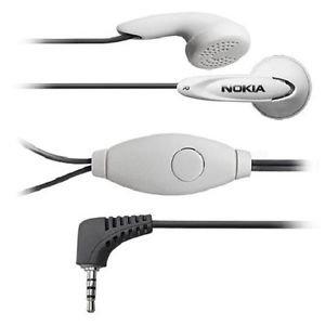 Original Nokia Stereo Headset HS-7 Nokia N-Gage QD 1101 1110 1112 1600 2300 2310 2600 2610 2626 2650 6030 6060 7280 7380