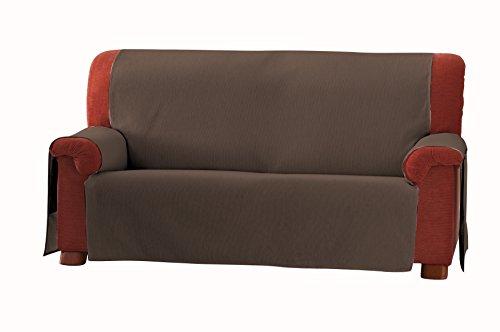 Eysa 3-Squares Zoco - Copridivano 3 posti, colore: 17-marrone, plastica;tela