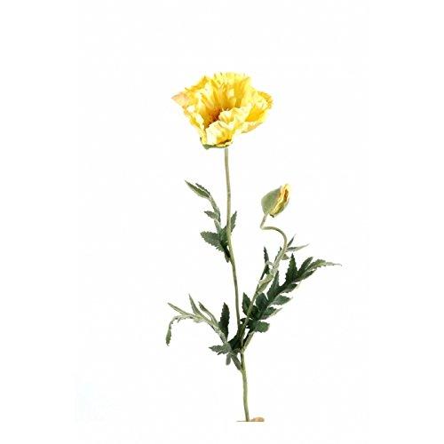 fleur coupee synthetique pavot fusion 1t 1b - h : 69