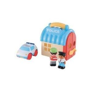 Image of Early Learning Centre - HappyLand Take and Go Police Station