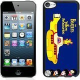 Beatles Yellow Submarine Black Shell Case for iPod Touch 5,Unique Cover