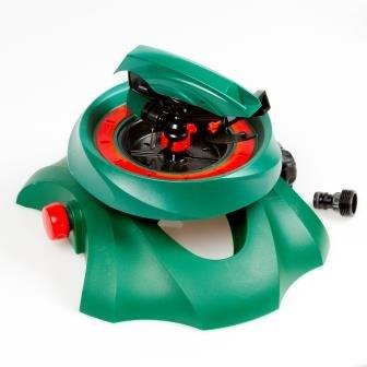 Profi-Flächenregner Rasensprenger Rotation von 0 bis 360 ° Kreisregner Viereckregner