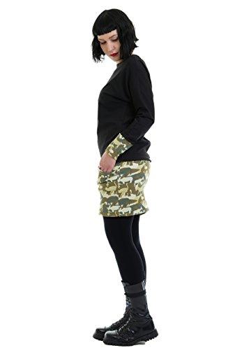 cooles Pullover Kleid mit Taschen von 3Elfen - hergestellt in Berlin Animal