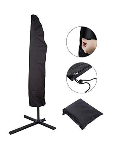 Zhhlaixing Schutzhülle für Ampelschirm Sonnenschirm Abdeckung Sonnenschirmhülle Wasserdicht UV-Anti Oxford Ampelschirm Schirm Hülle Regenschirm Abdeckhauben -