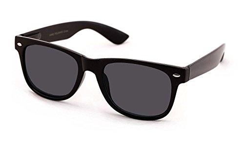 +1.25 Sonnen Lesebrille Schwarz Lesebrille Sonnenbrille 100% UV-Schutz Getönte Gläser, Männer Frauen Retro Vintage Zeitlos Fall & Stoff (Sonne Lesen Gläser Für Frauen)
