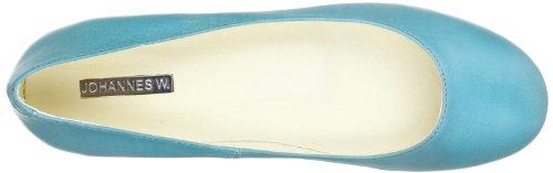 Johannes W. 9188 A, Ballerines femme Bleu (Burundi/Blau)