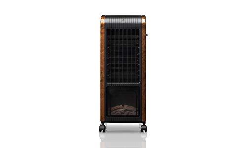 Climatizador, Calefactor, Humidificador, Ambientador 6 en 1 Deluxe Madera