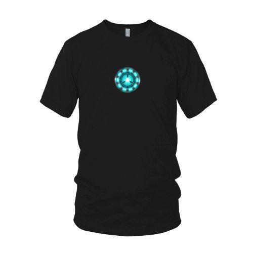 Tony Kostüm Arc Stark Reactor (Planet Nerd - Arc Reactor - Herren T-Shirt, Größe L,)
