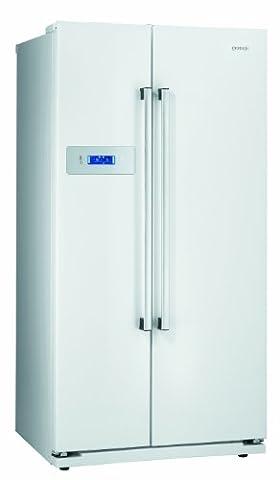 Gorenje NRS85728W Side by Side / A+ / Kühlteil: 349 L / Gefrierteil: 192 L / weiß / Quick Cooling Funktion / LCD Display zweizeilig