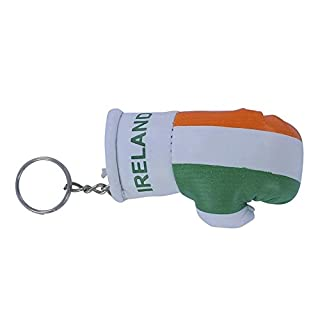 Akacha Keys Key Irish Ireland Flag Irish Flag Boxing Glove Key Ring Keychain
