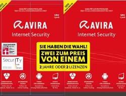 Internet Security 2013 Sonderedition - 2 Jahre oder 2 Lizenzen