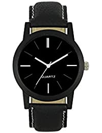 Ms Enterprise Black Dial Analog Watch For Mens And Boys - MS-M-BK-003