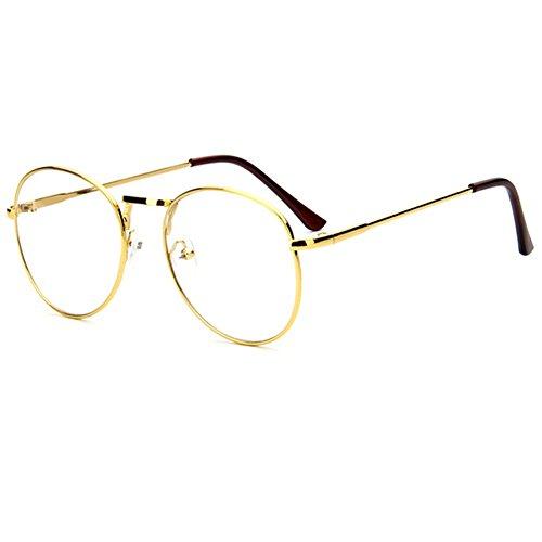 z-p-unisex-wayfarer-new-style-retro-round-metal-thin-edge-frame-clear-lens-glasses