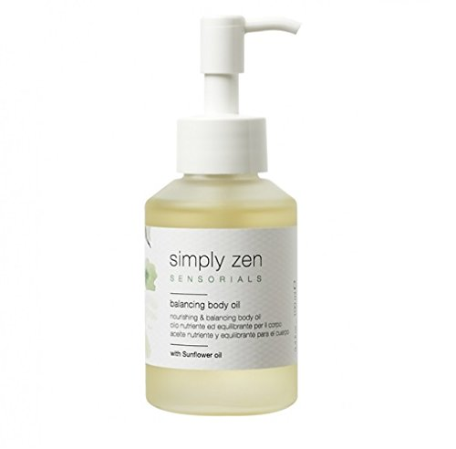Simply zen balancing body oil 100 ml olio nutriente ed equilibrante per il corpo 100ml
