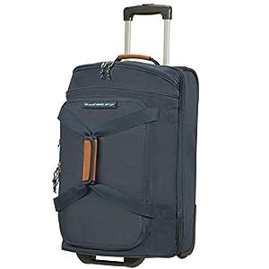 American Tourister AllTrail – Bolsa de Viaje con Ruedas (76 cm), Color Azul Marino