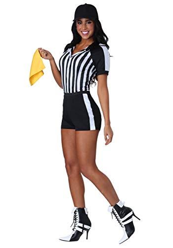 Fun Costumes Rassiges Schiedsrichter-Frauen-Kostüm - L