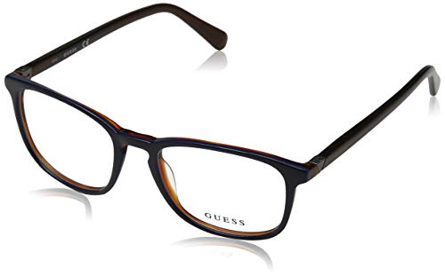 Guess Unisex-Erwachsene GU1950 092 52 Brillengestelle, Blau (Blu),