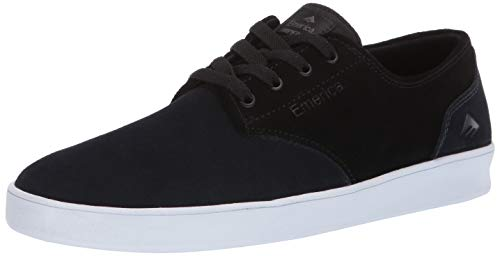 Emerica Herren Laced The Romero, mit Schnürsenkeln, Navy/Black/Silver 41 EU M - Reynolds Cruisers