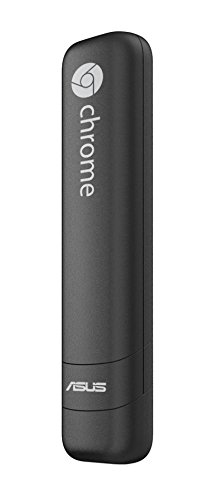 ASUS Chromebit-B014C - Mini ordenador (Quad-Core RK3288C, 2 GB RAM, disco eMMC de 16 GB, Chrome OS), negro