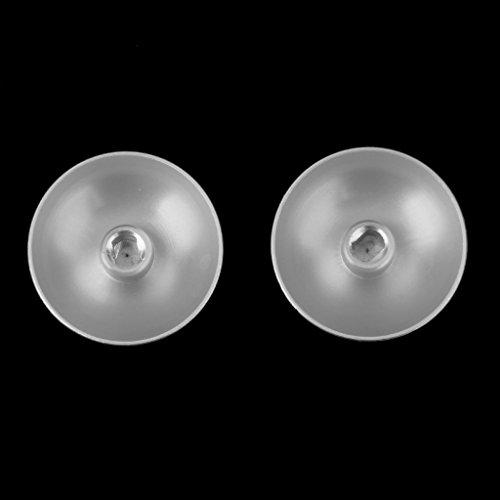 Preisvergleich Produktbild Generic Metall kugel Tasten + Thumbstick Für Playstation 4 PS4 Controller - Silber