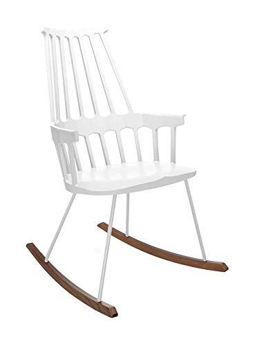 Kartell Comback Sessel, Plastik, weiß, 59 x 99 x 58 cm