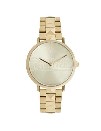 Jean-Paul Gaultier - Reloj de Pulsera para Mujer, Color Dorado