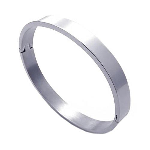 b93d21b9fae2f KONOV Bijoux Bracelet Femme - Classique - Acier Inoxydable - Fantaisie -  pour Homme et Femme