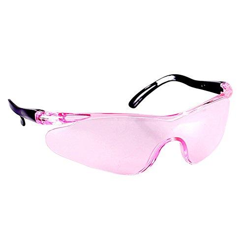HINMAY Kinder-Schutzbrille, Winddichte Augenschutzbrille, Sicherheitsbrille mit klarem Anti-Beschlag, Kratzfest, Geschenk, tragbar für Kinder im Freien, Spiel, Rose, Free Size