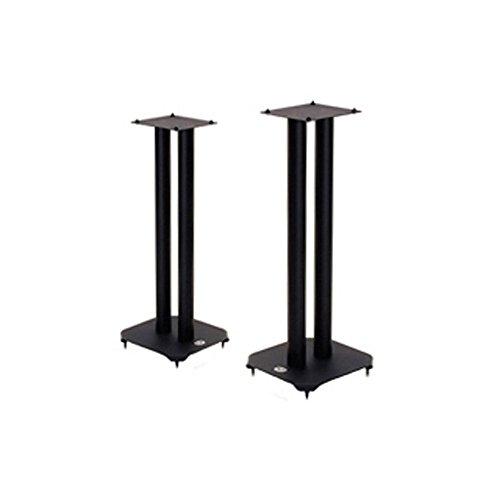 B-Tech BT606 ATLAS schwarz - Ständer für Lautsprecher, Lautsprecherständer 60cm (Stereo-lautsprecher Bookshelf)