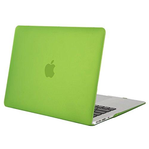 MOSISO MacBook Air 13 Hülle - Ultra Slim Hochwertige Plastik Hartschale Schutzhülle Shell Case für MacBook Air 13 Zoll (A1369 / A1466, 2010-2017 Version), Lichtdurchlässig Greenery