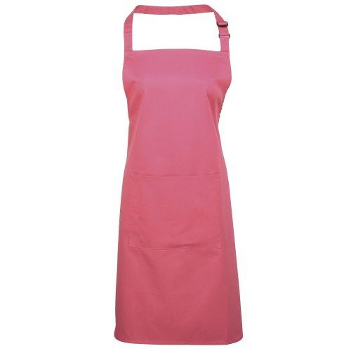 Premier Workwear Colours Bib Apron with Pocket, Top Donna Fucsia