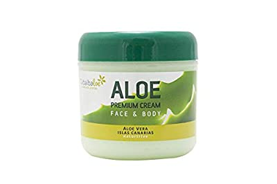 Premium Face and body Cream Aloe Vera 300 ml Tabaibaloe
