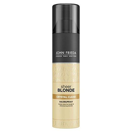 John Frieda Sheer Blonde Kristall Hold-Form & Shimmer Hairspray 250ml -