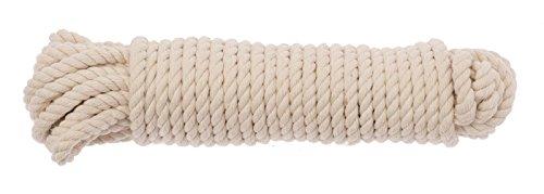 Glorex GmbH GLOREX BW-Seil, Baumwolle, Natur, 21 x 6.5 x 5 cm