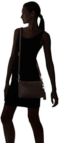 Vanessa Bruno - Lune 2 Zips Pm, Borsa a tracolla Donna nero (noir)