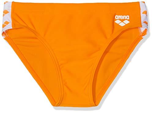 Arena B Team Fit Jr Brief Bañador Slip, Niños, Tangerine, 12-13